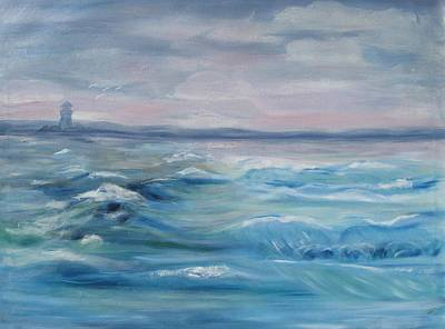 Painting - Oceans Of Color by Diane Pape