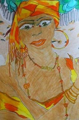 Ochun Original by Jeanne  Poller