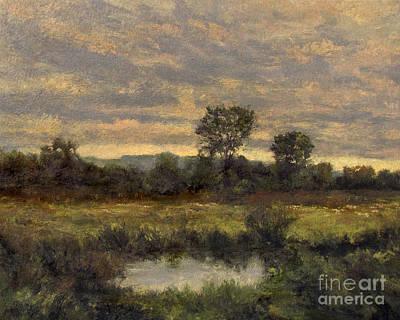 Painting - October Evening Storm by Gregory Arnett