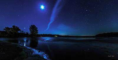 Fair Photograph - October Moon by Everet Regal