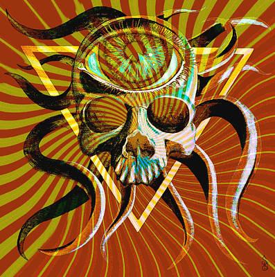 Ocupus Remix Print by Steve Hartwell