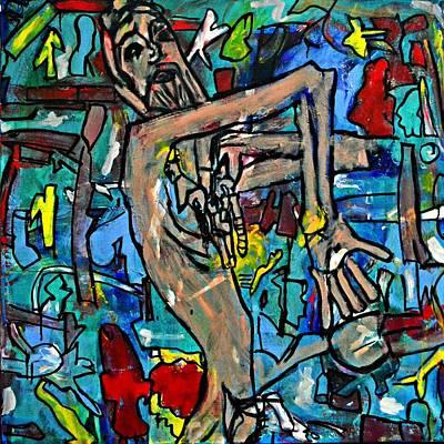 Ode To Egon Schiele Original by Nicole Gavin