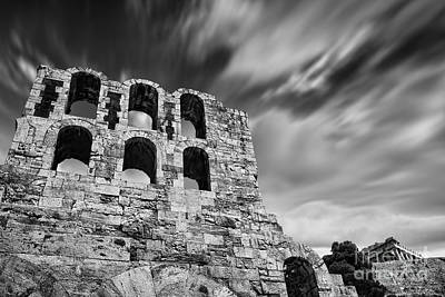 Athens Ruins Photograph - Odeon Of Herodes Atticus - Athens by Rod McLean