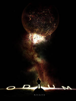 Space Digital Art - Odium by Timothy Engle