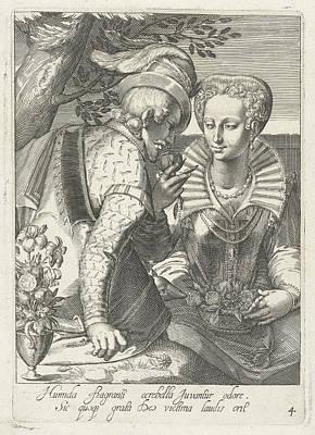 Odour, Cornelis Boel, Anonymous Print by Cornelis Boel And Anonymous