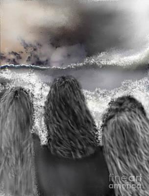 Digital Art - Of The Sea by Ruth Clotworthy