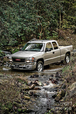 Turf Photograph - Off Road Truck by Jt PhotoDesign