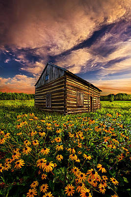 Bluesky Photograph - Off The Grid by Phil Koch