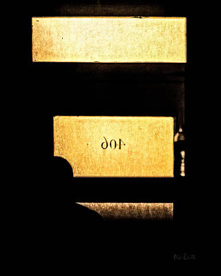Haunting Photograph - Office 406 by Bob Orsillo