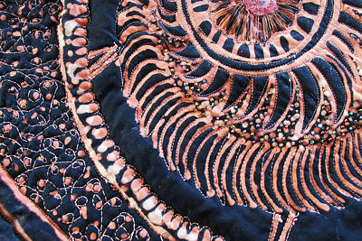 Bead Embroidery Tapestry - Textile - Oganized Dtail by MaryAnn  Ead