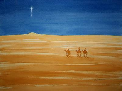 Oh Holy Night Print by Stacy C Bottoms