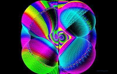 Oh Julian How You Do Hypnotize Me Print by Naomi Richmond