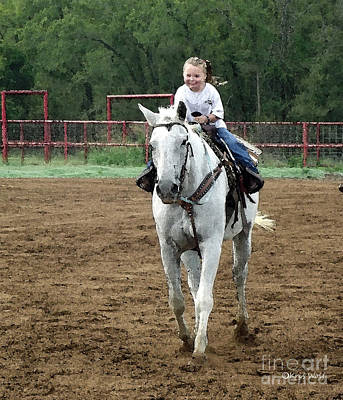 Cowgirl Photograph - Oh What Joy by Kris Wolf