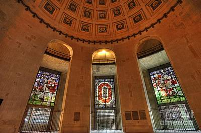 Entrance Photograph - Ohio Stadium by David Bearden