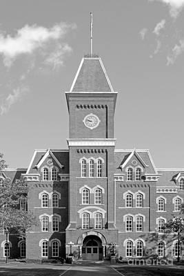 Osu Photograph - Ohio State University Hall by University Icons