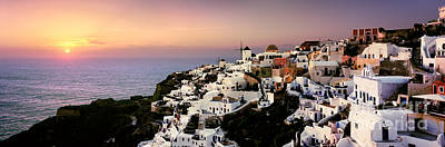 Oia - Santorini Print by Rod McLean