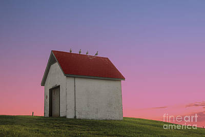 Brick Buildings Photograph - Oil House by Juli Scalzi