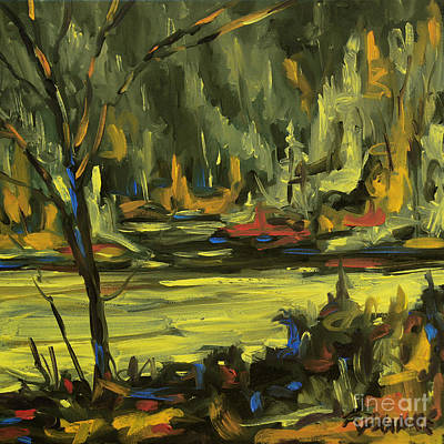 Quebec Painting - Okanagan Highlights By Prankearts by Richard T Pranke