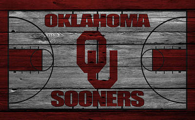 Oklahoma Sooners Print by Joe Hamilton