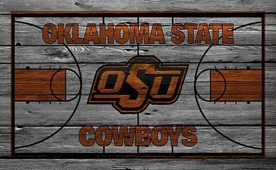 Oklahoma State Cowboys Print by Joe Hamilton