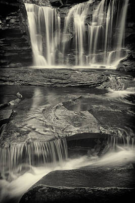 Virginia Photograph - Ol' Black Water-sepia by Mike Lang