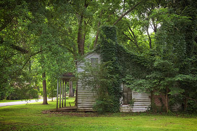 Old Abandoned Home In Mooresville Alabama Print by Mountain Dreams