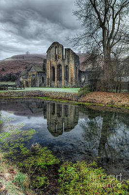 Valle Photograph - Old Abbey by Adrian Evans