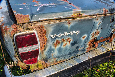 Wrecked Cars Photograph - Old Aged by Dale Kincaid