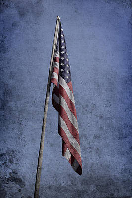 Old American Flag  Original by Toppart Sweden
