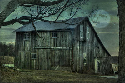 Shed Digital Art - Old As The Hills by David Simons
