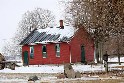 Old School Houses Photograph - Old Ashland School House by R A W M