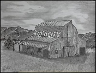 Old Barn II Print by Tony Clark
