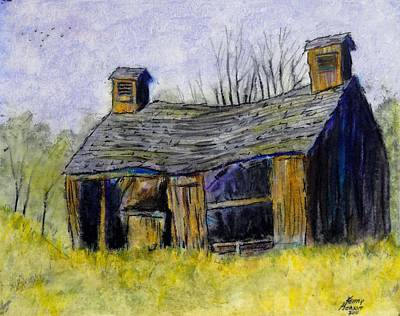 Old Barn Print by Kenny Henson