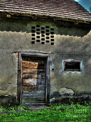 Bosnae Photograph - Old Barn by Nina Ficur Feenan