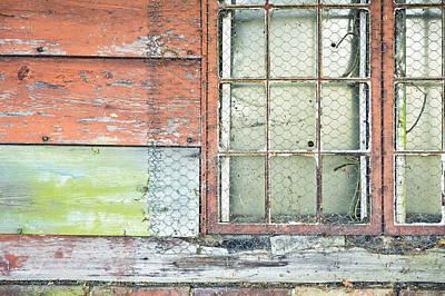 Barn Boards Photograph - Old Barn Window by Tom Gowanlock