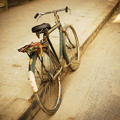 Old Bicycle Print by Dutourdumonde Photography