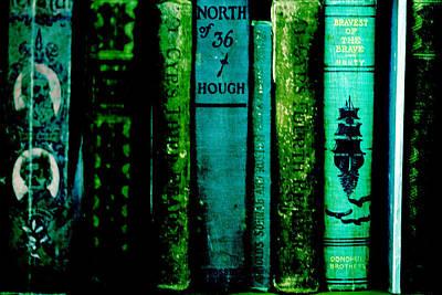 Old Books Print by Bonnie Bruno