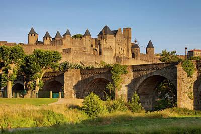 Languedoc Photograph - Old Bridge (14th Cent by Brian Jannsen
