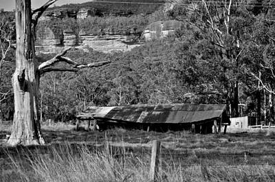 Photograph - Old Bush Shed by Marty  Cobcroft