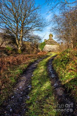 Abandoned Digital Art - Old Cottage by Adrian Evans