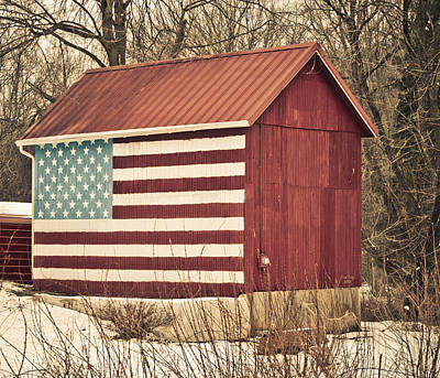 Old Country America Print by Trish Tritz
