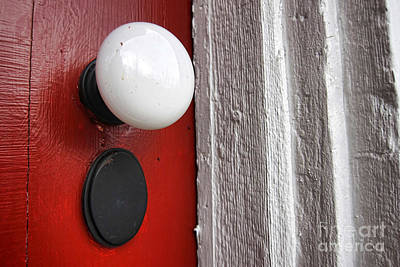 Hardware Photograph - Old Doorknob by Olivier Le Queinec