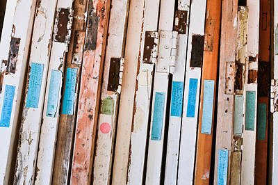Junk Photograph - Old Doors by Tom Gowanlock