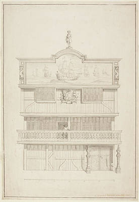 East India Photograph - Old East India House by British Library