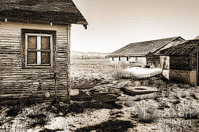 Old Farm Print by Baywest Imaging