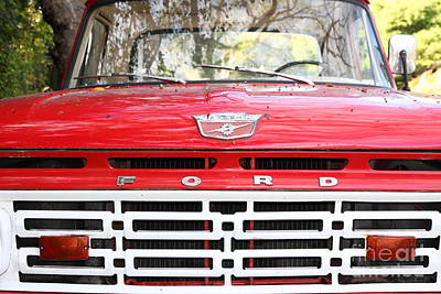 Old Ford Truck 5d22422 Print by Wingsdomain Art and Photography