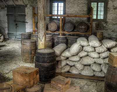 Food Stores Photograph - Old Fort Commissary by James Barber