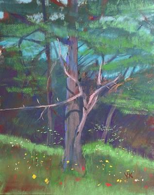 Landscape Pastel - Old Friend by Yevgeniy Kruglov