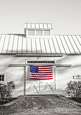 Tea Party Photograph - Old Glory Circa 1776 by Edward Fielding