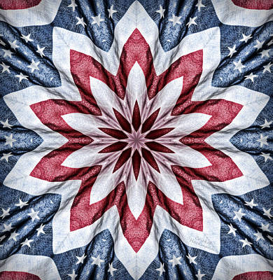 Old Glory Print by Cricket Hackmann